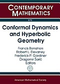 Conformal Dynamics & Hyperbolic Geometry