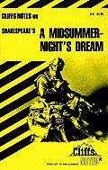 Cliffs Notes Midsummer Nights Dream