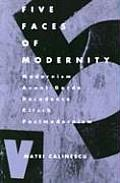 Five Faces of Modernity-Pa