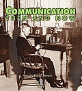 Communication Then and Now (First Step Nonfiction) Cover