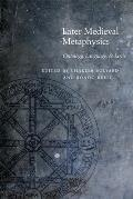 Later Medieval Metaphysics: Ontology, Language, and Logic