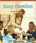 Busy Families: Learning to Tell Time by the Hour