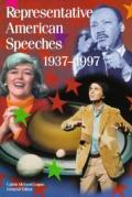Representative American Speeches: 1937-1997