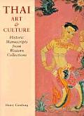 Thai Art and Culture: Historic Manuscripts from Western Collections