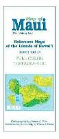Map of Maui: The Valley Isle; Reference Maps of the Islands of Hawai'i