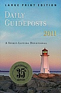 Daily Guideposts 2011: Large Print Edition (Large Print)