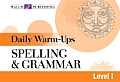 Daily Warm-Ups English/Language Arts #11: Daily Warm-Ups for Spelling & Grammar