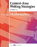 Content-Area Reading, Writing, Vocabulary for Math #3: Content-Area Writing Strategies for Mathematics