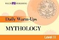 Daily Warm-Ups English/Language Arts #7: Daily Warm-Ups for Mythology