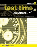 Test Time! Practise Books That Meet the Standards: Life Science, Grades 3-4