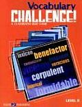 Vocabulary Challenge! Level II