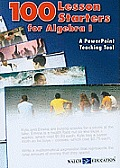 100 Lesson Starters for Algebra 1: A PowerPoint Teaching Tool