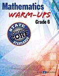 Math Warm Ups Ccss Series