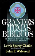 Grandes Temas Biblicos: Major Bible Themes