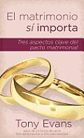 El Matrimonio Si Importa: Tres Aspectos Claves del Pacto Matrimonial