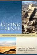 Giving the Sense (04 Edition)