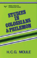 Studies In Colossians & Philemon