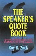 Speakers Quote Book Over 4000 Illustrat