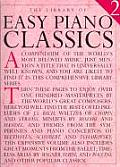 Library of Series #02: Easy Piano Classics 2