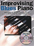 Improvising Blues Piano [With CDROM]