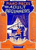 Piano Pieces for Adult Beginners (Efs 251)