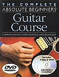 Complete Absolute Beginners Guitar Course With 2 CDs & Pull Out Chart & DVD
