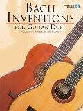 Bach Inventions for Guitar Duet With 2 Audio CDs