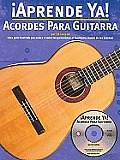 Aprende YA! Acordes Para Guitarra with CD (Audio) (Aprende YA!)