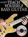 Teach Yourself Bass Guitar with DVD (Step One Teach Yourself)