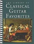 The Library of Classical Guitar Favorites: A Deluxe Volume of 125 of the Most Beautiful and Popular Pieces for the Classical Guitar
