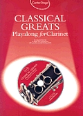 Classical Greats Playalong for Clarinet [With Audio CD]