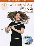 A New Tune a Day for Flute: Books 1 & 2 [With 2 CD's and Pull-Out Fingering Chart for Flute]
