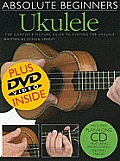 Absolute Beginners Ukulele Book, CD and DVD