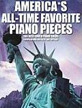 America's All-Time Favorite Piano Pieces: 166 Best-Loved Piano Solos