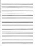 Passantino Music Papers, No. 85: 12 Stave