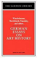 German Essays on Art History: Winckelmann, Burckhardt, Panofsky, and others
