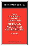 German Novellas of Realism: Stifter, Droste-Hulshoff, Gotthelf, Grillparzer, Morike