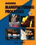 Modern Manufacturing Processes (91 Edition) Cover