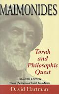Maimonides: Torah and Philosophic Quest