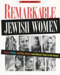 Remarkable Jewish Women Rebels Rabbis &