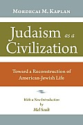 Judaism As a Civilization (10 Edition)