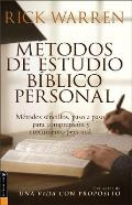 Metodos de Estudio Biblico Personal: 12 Ways to Study the Bible on Your Own