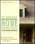 Complete Book Of Home Inspection 2nd Edition