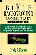 Ivp Bible Background Commentary New Test