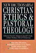 New Dictionary of Christian Ethics Pastoral Theology