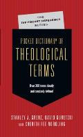 Pocket Dictionary of Theological Terms (Pocket Dictionary)