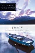 John: 26 Studies for Individuals or Groups (N.T. Wright for Everyone Bible Study Guides)