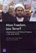 More Freedom, Less Terror?: Liberalization and Political Violence in the Arab World