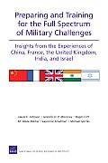 Preparing and Training for the Full Spectrum of Military Challenges: Insights from the Experiences of China, France, the United Kingdom, India, and Is