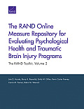 The Rand Online Measure Repository for Evaluating Psychological Health and Traumatic Brain Injury Programs: The Rand Toolkit